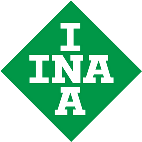 INA autodalys, logo